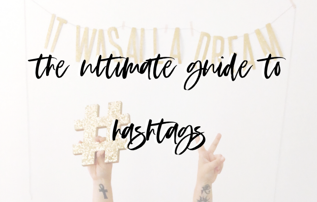 Hashtag Guide, Lattes for Lunch, Niche Hashtags